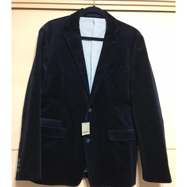 COMME CA ISM(コムサイズム)のコムサ イズム 黒 ジャケット メンズのジャケット/アウター(レザージャケット)の商品写真