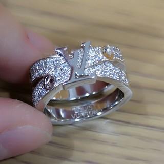 LOUIS VUITTON - ルイヴィトン リング LOUIS VUITTON 指輪 ロゴ