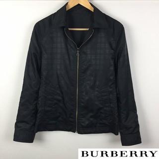 バーバリーブラックレーベル(BURBERRY BLACK LABEL)の美品 BURBERRY BLACK LABEL ナイロンジャケット リバーシブル(ナイロンジャケット)