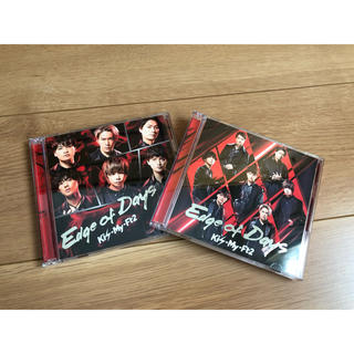 Kis-My-Ft2 - Edge of Days(初回盤A.Bセット)