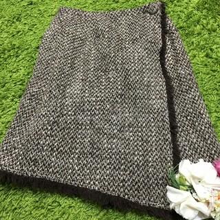 M'S GRACY - エムズグレイシー レディツイードスカート
