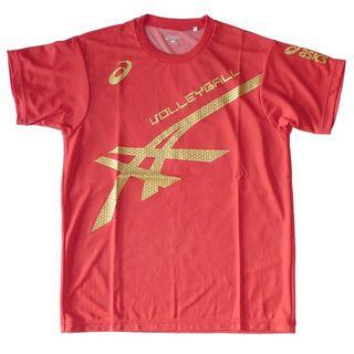 アシックス(asics)の【L】サイバークールTシャツHS(XW633N 24/L)(バレーボール)