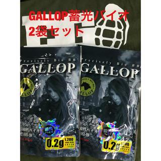 蓄光弾‼GALLOP蓄光バイオ0.2g(1200発)2個セット(その他)