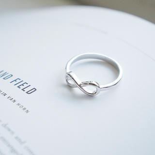 トゥデイフル(TODAYFUL)のR18「シルバー925 インフィニティモチーフリング」指輪 無限大 S925(リング(指輪))