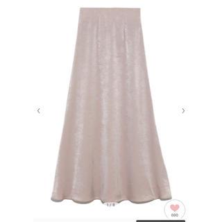 snidel - snidel サテンマーメイドスカート