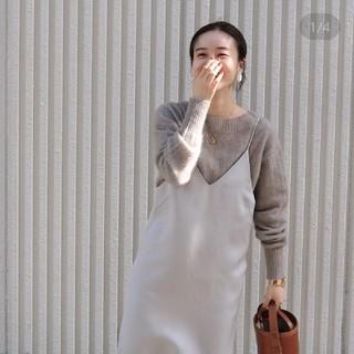 IENA - 新品タグつき☆イエナ T/A firol キャミワンピース