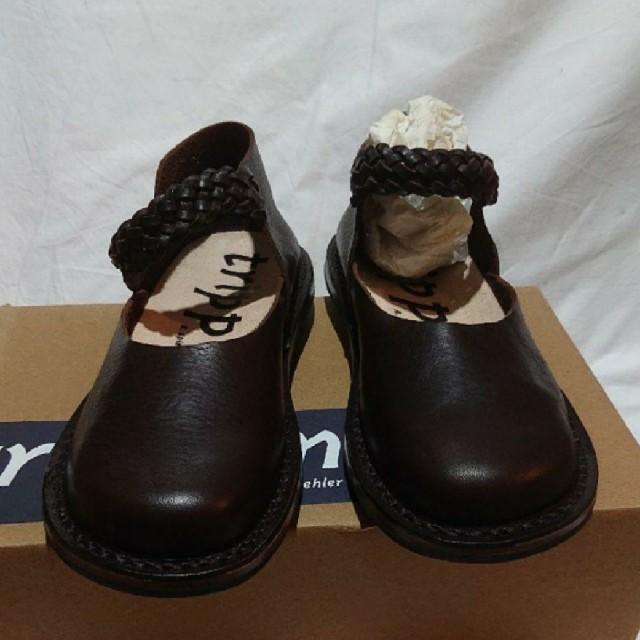 trippen(トリッペン)の(新品・未使用品)trippen idylle エスプレッソ レディースの靴/シューズ(ローファー/革靴)の商品写真