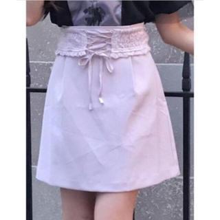 EATME - EATME コルセットベルト付きスカート