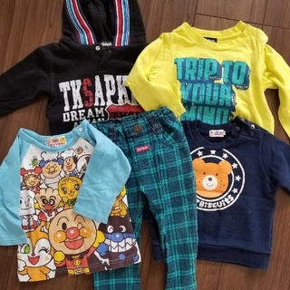 ミキハウス(mikihouse)の子供服 まとめ売り 70~80(Tシャツ)
