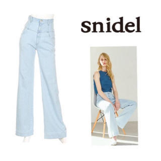 snidel - 新品♡サイズ1 ハイウエスト バギーパンツ
