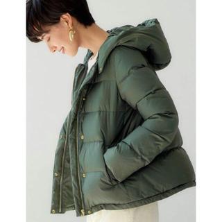 green label relaxing - CFCハッスイフードショートダウンジャケット 新品 42
