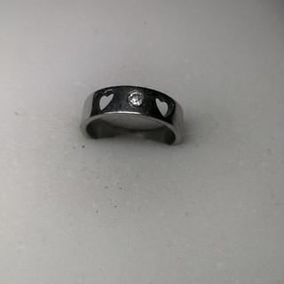 イミテーション付き 新品 ファッションリング 17号 rb79(リング(指輪))