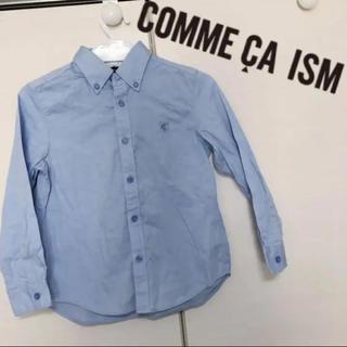 コムサイズム(COMME CA ISM)のコムサイズム 120 フォーマル 無地 長袖 ワイシャツ ブラウス キッズ(その他)