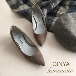 GINZA Kanematsu - 美品 ギンザカネマツ ginza kanematu 22.5 パンプス