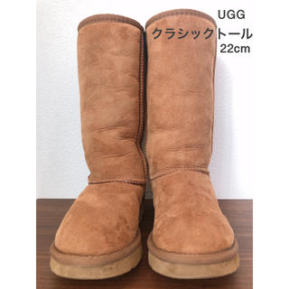 UGG - UGG ムートンブーツ▪︎クラシックトール 22cm
