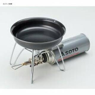 シンフジパートナー(新富士バーナー)のSOTO GORA フライパン 16cm ST-950FP16 アウトドア 調理(ストーブ/コンロ)