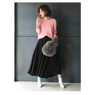 Chesty - OBLI フレアスカート /ブラック サイズM