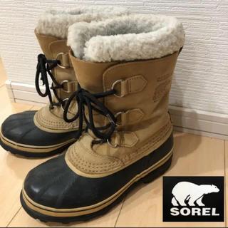 SOREL - SOREL ソレル 23 カリブー 防水 スノーブーツ レディース キッズ