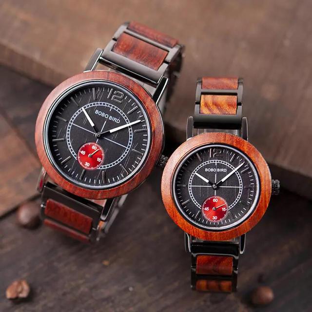BOBO BIRD ボボバード 腕時計 ペア ペアウォッチ 木製腕時計 カップルの通販