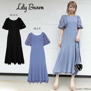 Lily Brown - lilybrown レースコンビマーメイドドレス