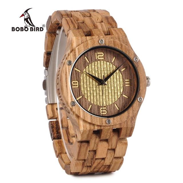 新作!値下げしました 腕時計 メンズ ボボバード BOBO BIRD オシャレの通販