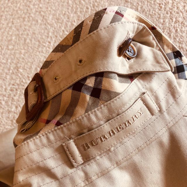 BURBERRY(バーバリー)の美品 バーバリーロンドン トレンチコート ノバチェック ハニー キャメル 36 レディースのジャケット/アウター(トレンチコート)の商品写真
