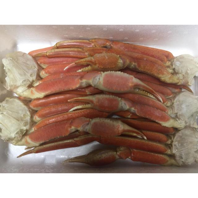 特大!ズワイガニ足!5L!2kg! 食品/飲料/酒の食品(魚介)の商品写真