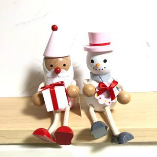 Francfranc - フランフラン ♡ クリスマス オーナメント レスニー 2体