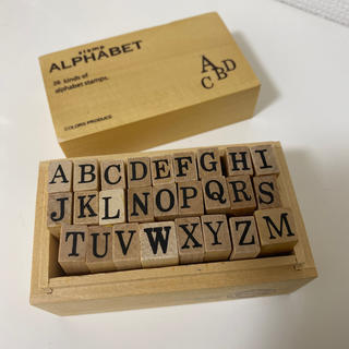 アルファベット スタンプ