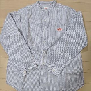 ダントン(DANTON)のダントン バンドカラーシャツ 38(シャツ/ブラウス(長袖/七分))