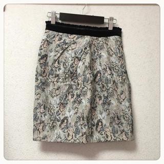 アプワイザーリッシェ(Apuweiser-riche)のアプワイザー ❤︎ ゴブラン織りスカート (ミニスカート)
