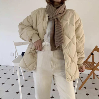 TODAYFUL - Natural quilting coat