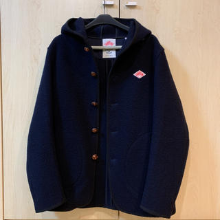 DANTON - DANTON フード付きウールモッサジャケットコート