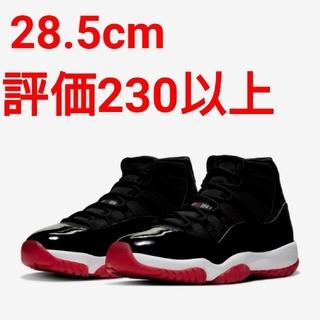 ナイキ(NIKE)の28.5cm NIKE AIR JORDAN11 BLACK/RED(スニーカー)
