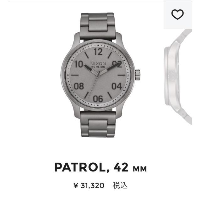 NIXON - 【新品】NIXON 腕時計 パトロール メンズ、レディースの通販