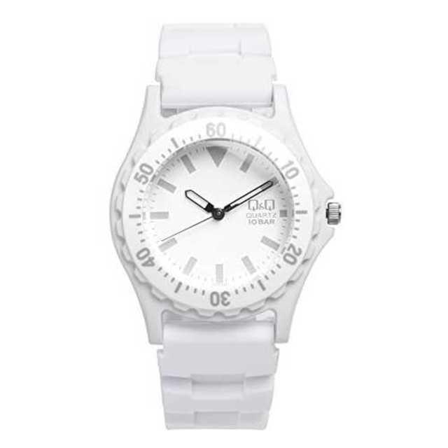 ホワイト[シチズン キューアンドキュー]CITIZEN Q&Q 腕時計 ウォッチの通販