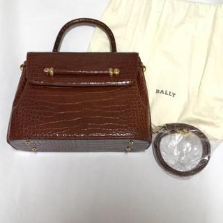 Bally - Barryクロコ型押しバッグ