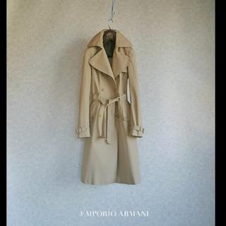 Emporio Armani - 超高級 エンポリオアルマーニ イタリア製 トレンチコート おしゃれ王道人気カラー