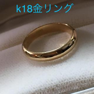 k18金リング(リング(指輪))