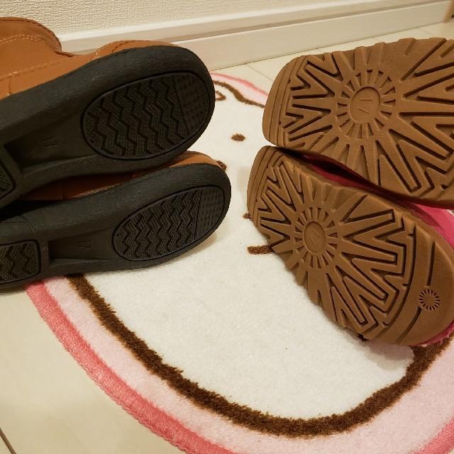 JENNI(ジェニィ)の17センチ❤️シスタージェニィ&未使用ブーツ キッズ/ベビー/マタニティのキッズ靴/シューズ (15cm~)(ブーツ)の商品写真