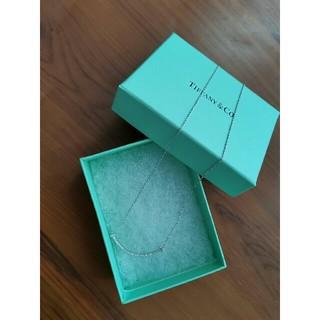 Tiffany & Co. - 美品 TIFFANY&CO ネックレス 綺麗 美品 笑顔