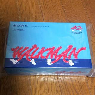 ウォークマン(WALKMAN)のウォークマン® Aシリーズ × 40周年記念モデル NW-A100TPS(ポータブルプレーヤー)