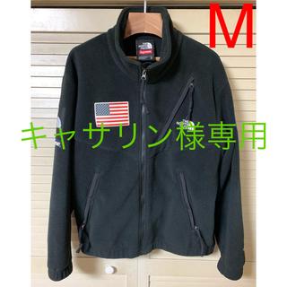 Supreme - 美品 シュプリーム ザノースフェイス 星条旗 フリースジャケット 黒 サイズM