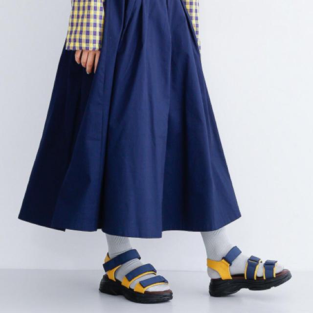merlot(メルロー)のメルロー merlot  サンダルとTシャツセット レディースの靴/シューズ(サンダル)の商品写真
