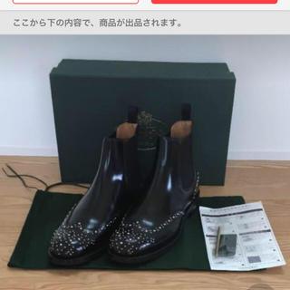 チャーチ(Church's)の新品 チャーチ KETSBY MET サイドゴア ブーツ 38(ブーツ)