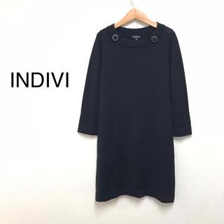 インディヴィ(INDIVI)のインディヴィ/ワンピース ニットワンピース(ひざ丈ワンピース)