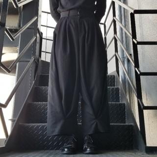 Yohji Yamamoto - kujaku風 ワイドパンツ 袴  リメイク