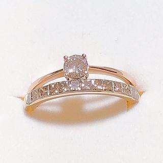特別価格!ブラウンダイヤモンド ロシアンブラウンダイヤモンド リング セット(リング(指輪))