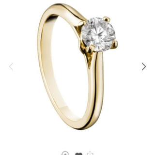 カルティエ(Cartier)の値下げ【Cartier】 ソリテール ダイヤモンドリング イエローゴールド(リング(指輪))