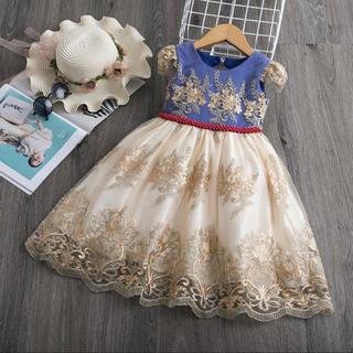 Disney - キッズ 白雪姫 プリンセスドレス コスプレ